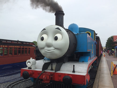 All aboard Thomas!
